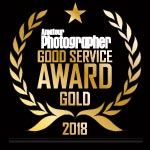 Good Service Award Gold Winner - 2018