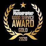 Good Service Award Gold Winner - 2020