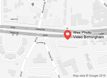 Wex Photo Video Birmingham Map