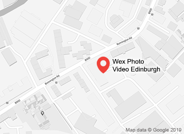 Wex Photo Video Edinburgh Map