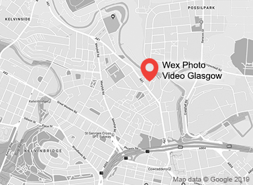 Wex Photo Video Glasgow Map