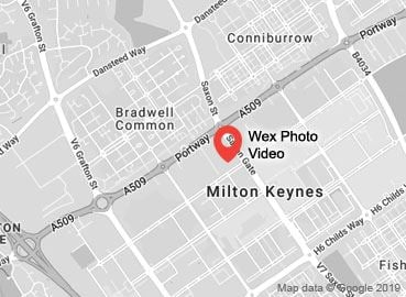 Wex Photo Video Milton Keynes Map