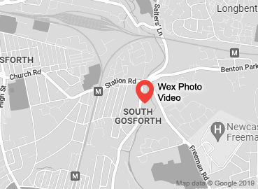 Wex Photo Video Newcastle Map