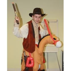 Wex Photographic Comic Relief Cowboy Mark