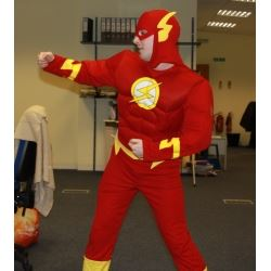 Wex Photographic Comic Relief Phil The Flash