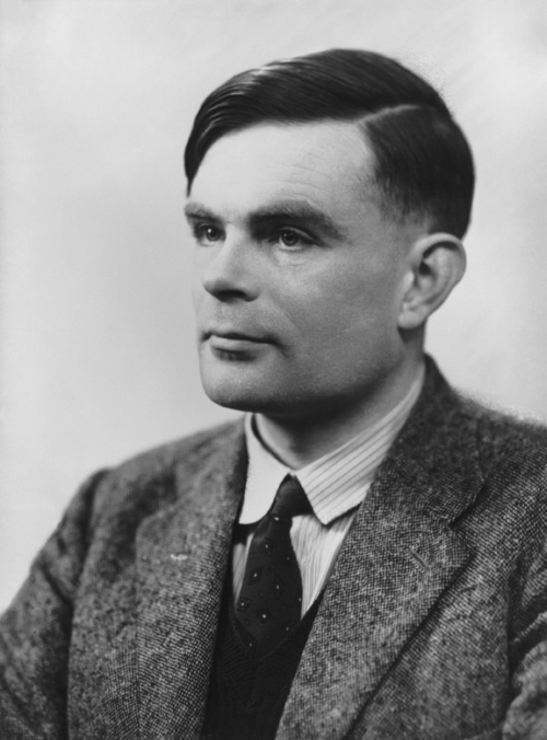 Alan Turing by Elliott and Fry 1951