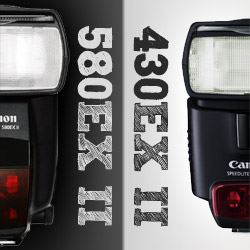 Canon Speedlite 430EX II v 580EX II review