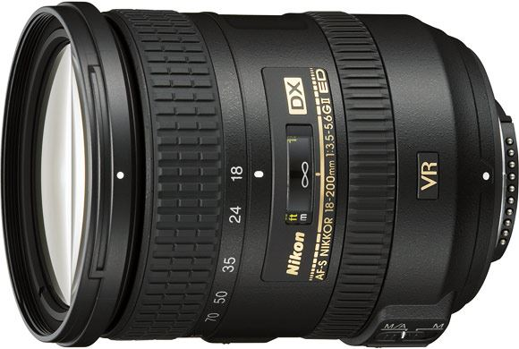 The new Nikon 18-200mm mark II lens