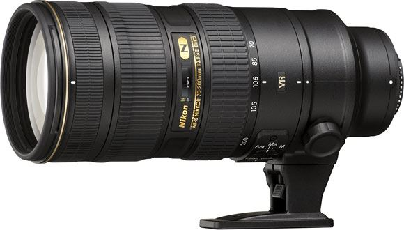 The new Nikon 70-200mm mark II lens