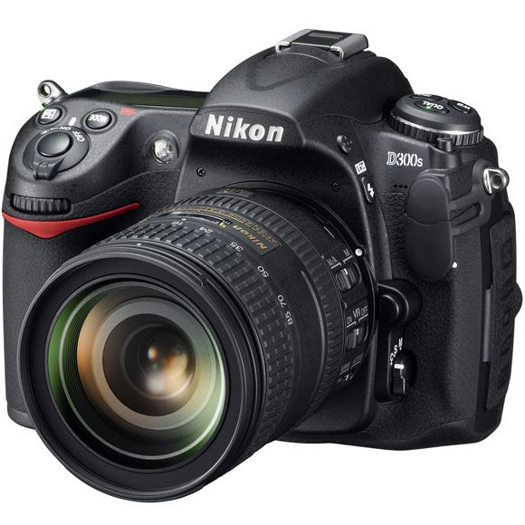 The new Nikon D300s digital SLR