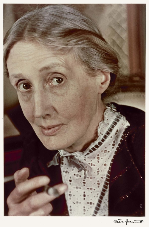 Virginia Woolf by Gisele Freund 1939
