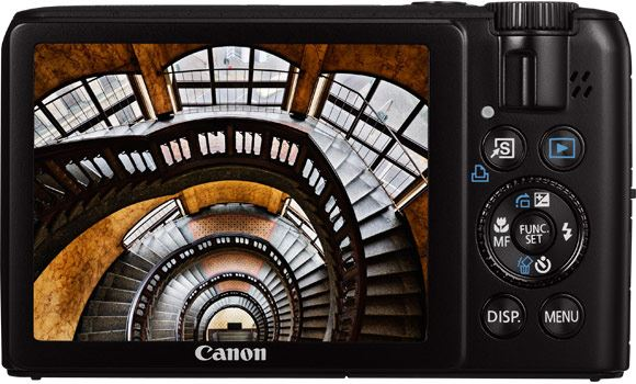 Canon PowerShot S90 with 3 inch LCD screen
