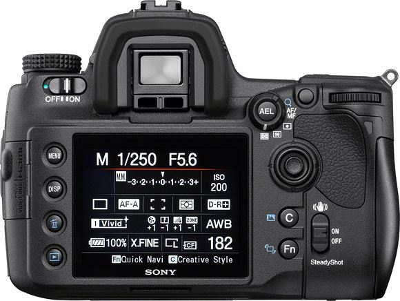 Sony a850 digital SLR with 3 inch Xtra Fine LCD