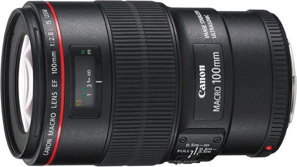 Canon EF 100mm f2.8 L IS USM macro lens