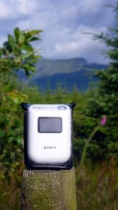 Sony GPS CS3 hill