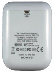 Sony GPS CS3 battery
