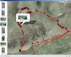 Sony GPS CS3 view