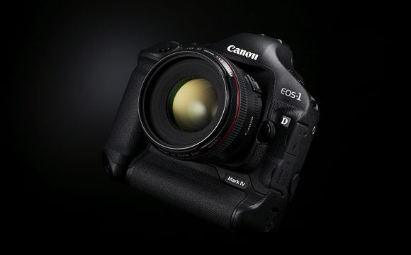 The new Canon EOS 1D Mark IV