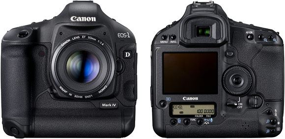 The EOS 1D Mk 4 offers fast, powerful, high resolution performance for professional photographers