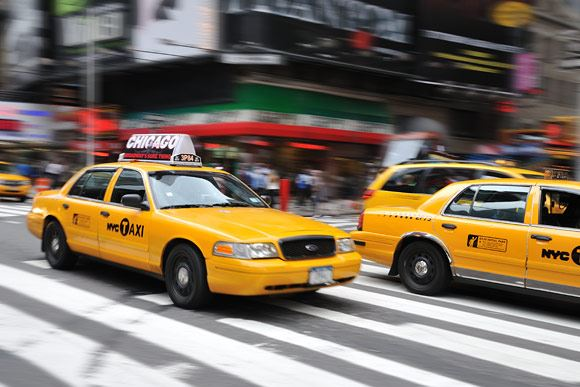 Panning with NYC Taxis, using 3D Tracking and VR in active mode