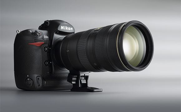 The Nikon D3s with the new 70-200mm VR II lens
