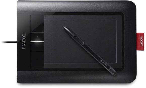 The new Bamboo graphics tablet range from Wacom