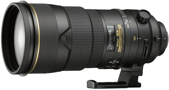 The new Nikon 300mm VR II lens