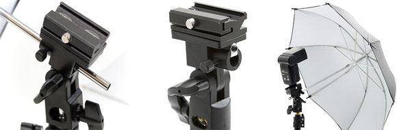 Wexpro Mini Umbrella Flash Bracket Kit