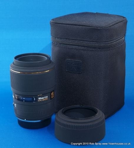 Sigma 105mm Macro Lens Review   Wex Photo Video
