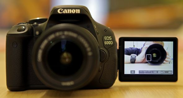 Canon 600D LCD screen