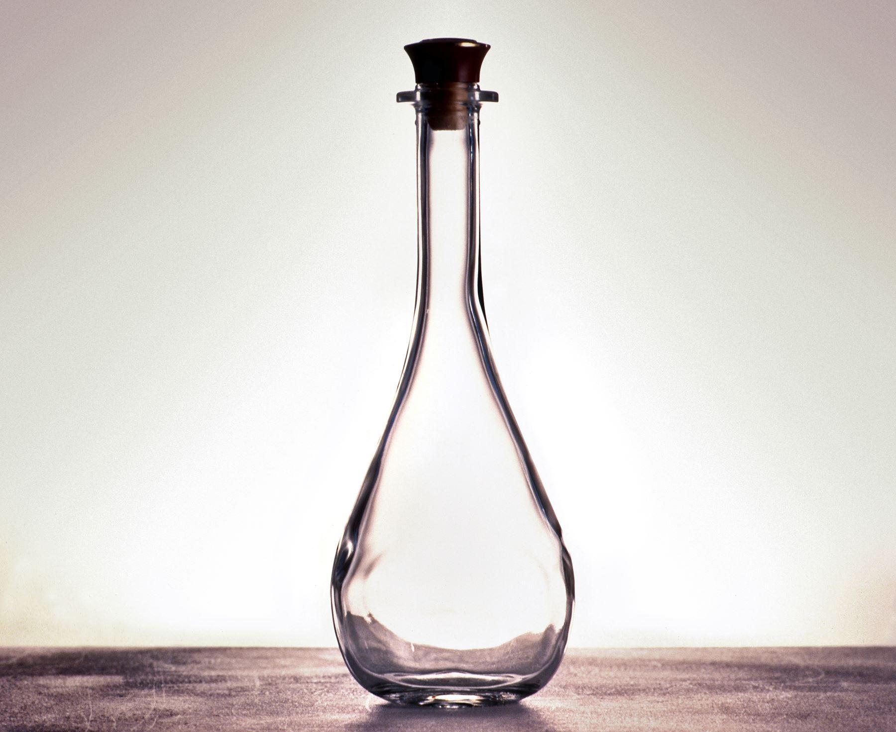 Backlit glass photography