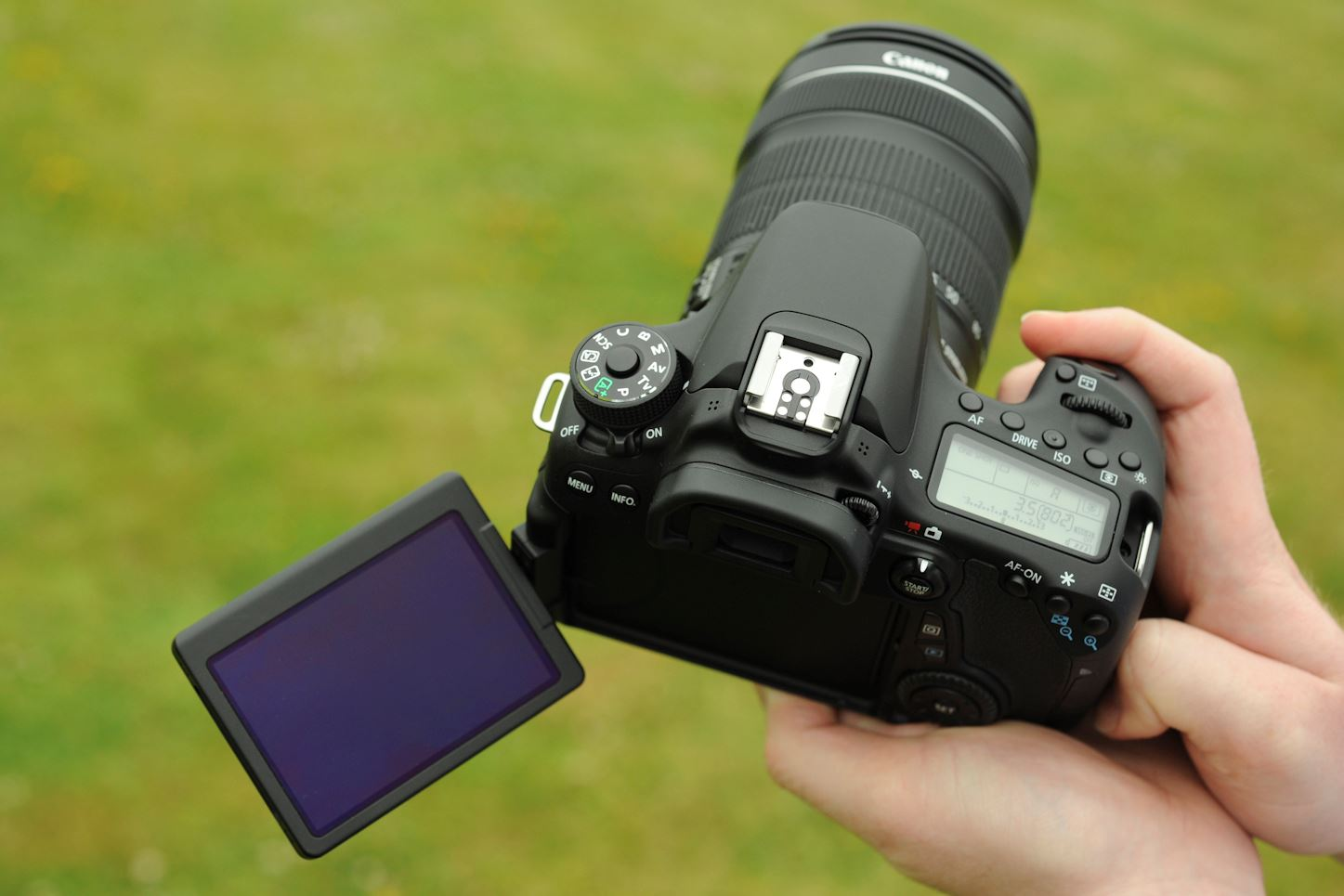 Canon EOS 70D screen