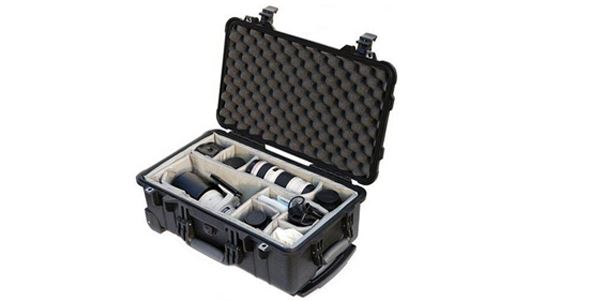 Peli 1510 Carry On Case with Dividers
