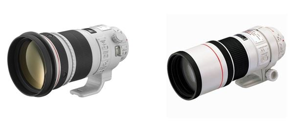 Canon 300mm lenses