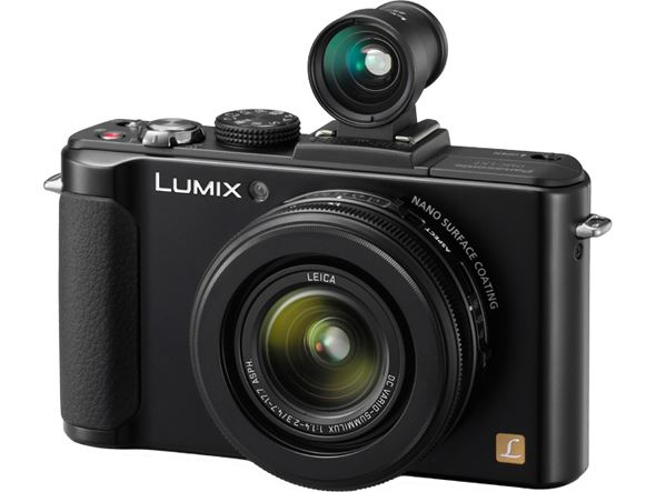 Panasonic Lumix LX7 (viewfinder not included as standard)