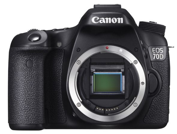 Canon EOS 70D - Mirror up