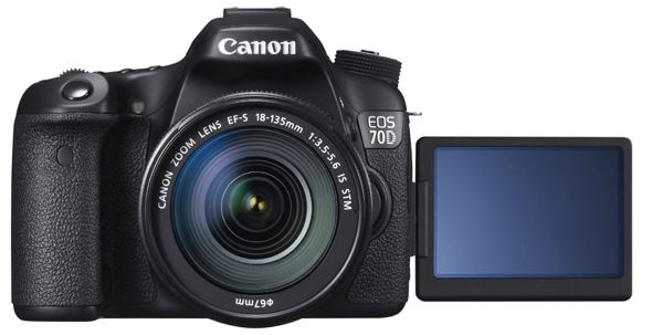 Canon EOS 70D - Screen