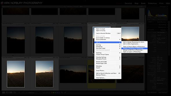 How to shoot panoramic images