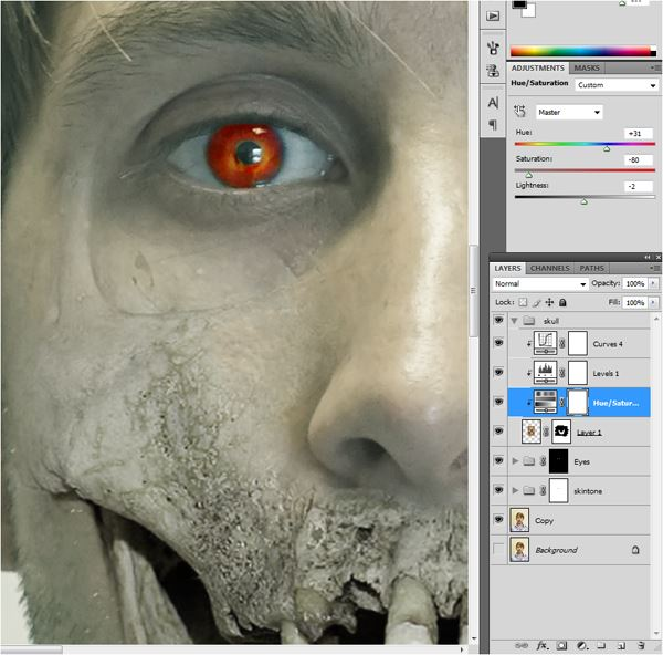 Scary Halloween Masks in Photoshop