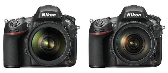 Nikon's D800E (R) was launched alongside the company's D800, giving photographers a choice between a camera with and without an anti-aliasing filter.