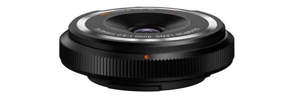 Olympus 9mm f/8 Fisheye Body Cap lens