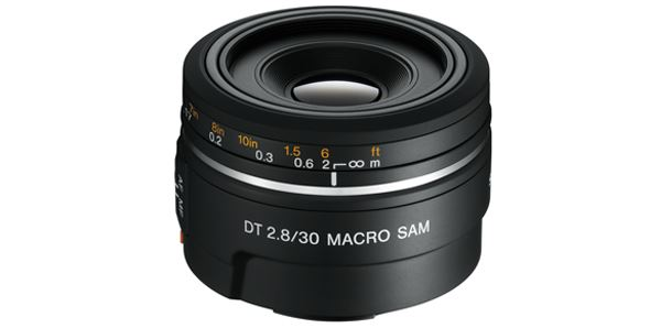 Sony DT 30mm f/2.8 SAM Macro lens