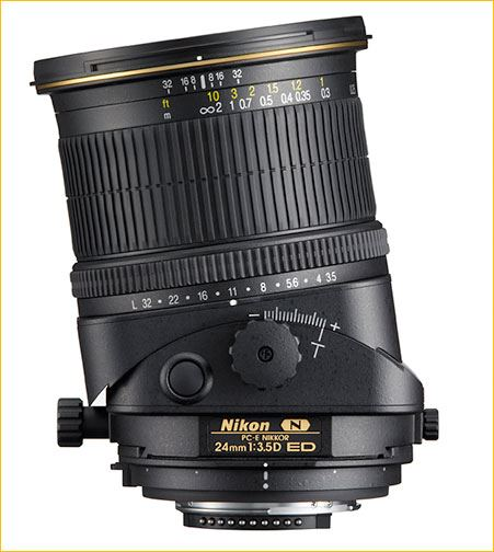 Persepctive control lens
