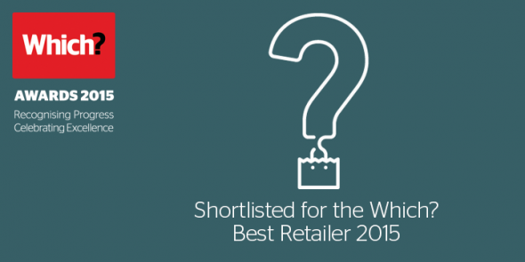 Wex shortlisted for the Which? Best Retailer Award