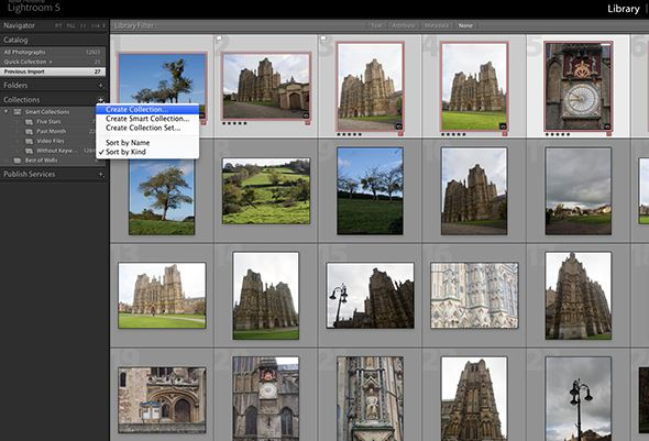 How to organise an Adobe Lightroom workflow