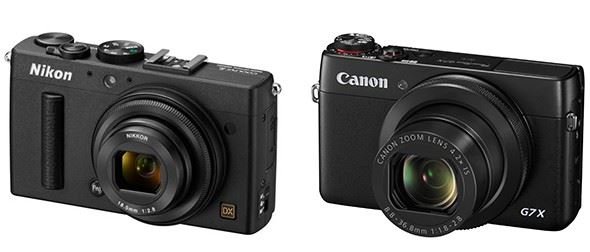 Nikon Coolpix A vs Canon PowerShot G7 X