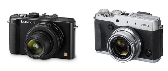 Panasonic Lumix LX7 vs Fuji X30