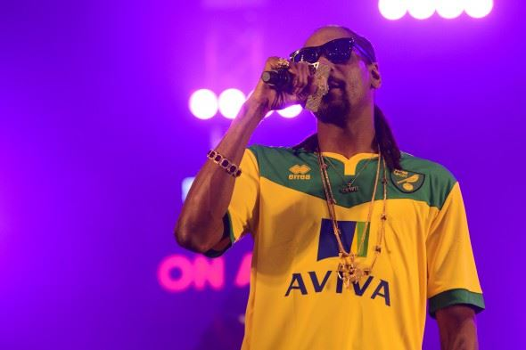 Snoop Dogg Live at BBC Radio 1 Big Weekend in Norwich
