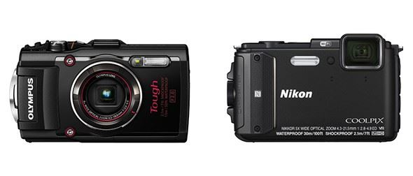 Olympus Stylus Tough TG-4 vs Nikon Coolpix AW130