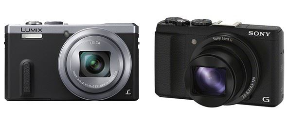 Panasonic Lumix TZ60 vs Sony Cyber-Shot HX60